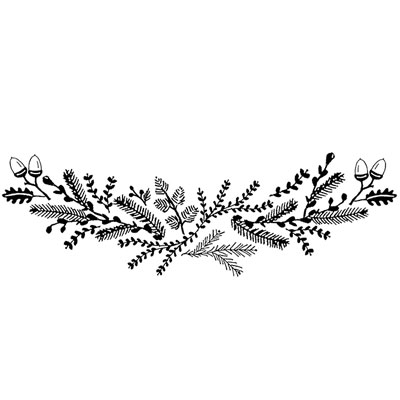 You can order this Winter Garland
