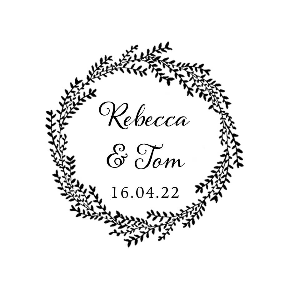 You can order this Willow Wedding Favour Stamp