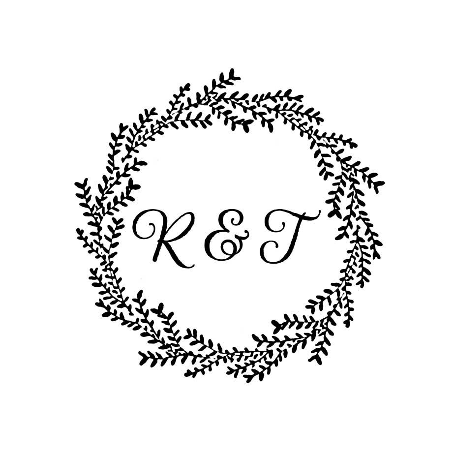 You can order this Willow Wedding Monogram